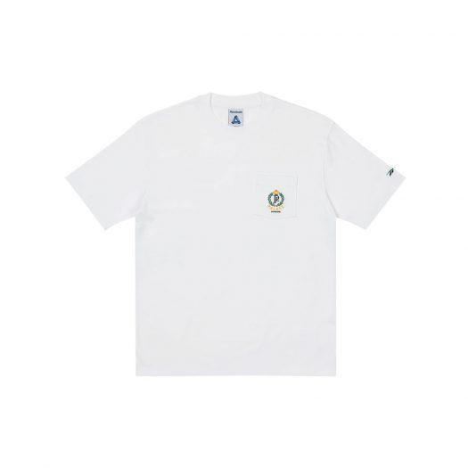 Palace x Reebok NPC Pocket T-Shirt White