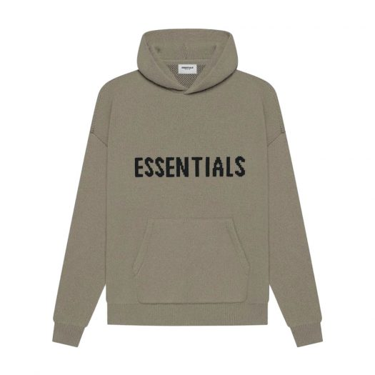 FEAR OF GOD ESSENTIALS Knit Pullover Taupe