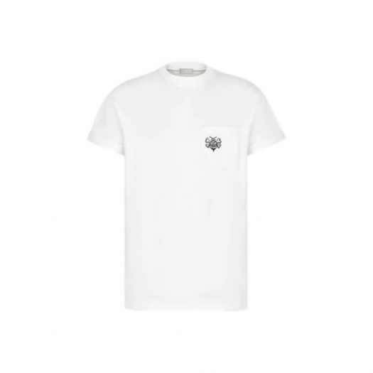 Dior And Shawn Oversized Bee T-Shirt White