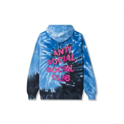 Anti Social Social Club Maniac Hoodie Blue Tie Dye
