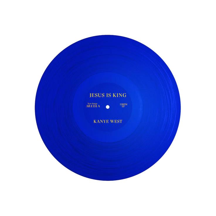 Kanye West Jesus Is King Vinyl Blue