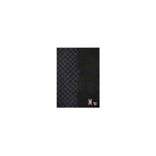 Louis Vuitton x Nigo Damier Giant Wave Monogram Stole Gris
