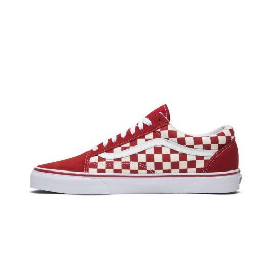 Vans Old Skool Checkerboard Racing Red