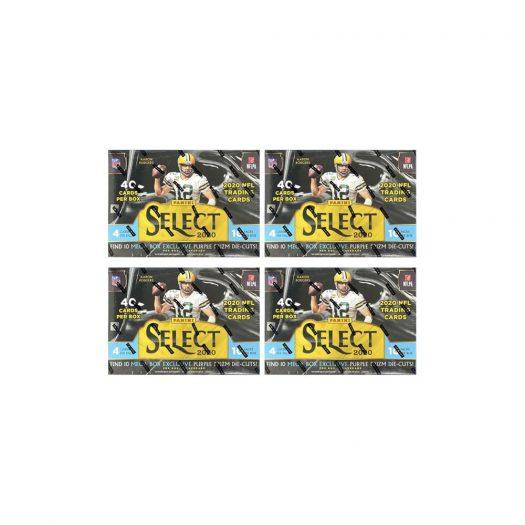 2020 Panini Select Football Mega Box (Purple Die Cuts) 4x Lot