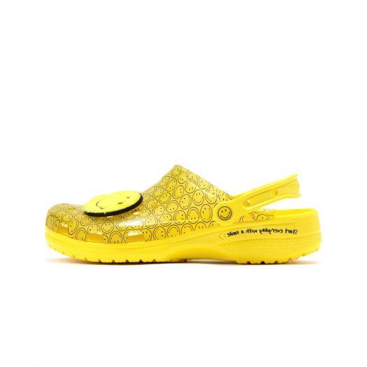 Crocs Classic Clog Translucent Smiley