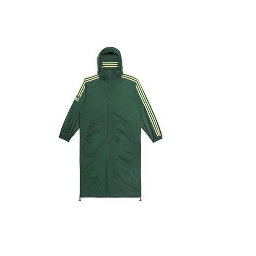 adidas Ivy Park Wind Jacket (Gender Neutral) Dark Green/Hi-Res Yellow