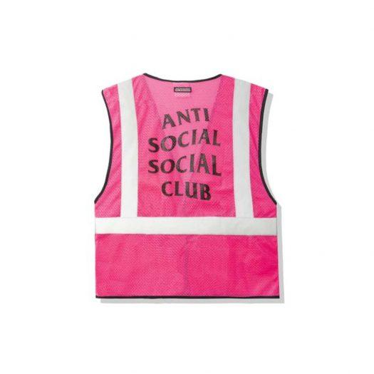 Anti Social Social Club Jackhammer Vest Pink