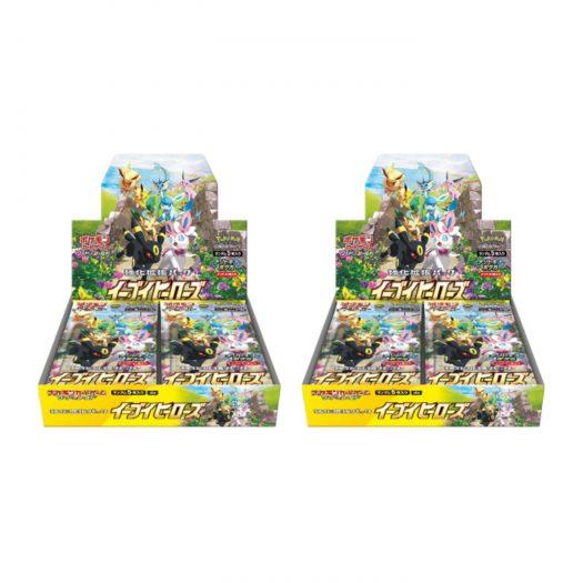 Pokemon TCG Eevee Heroes Booster Box 2x Lot (Japanese)