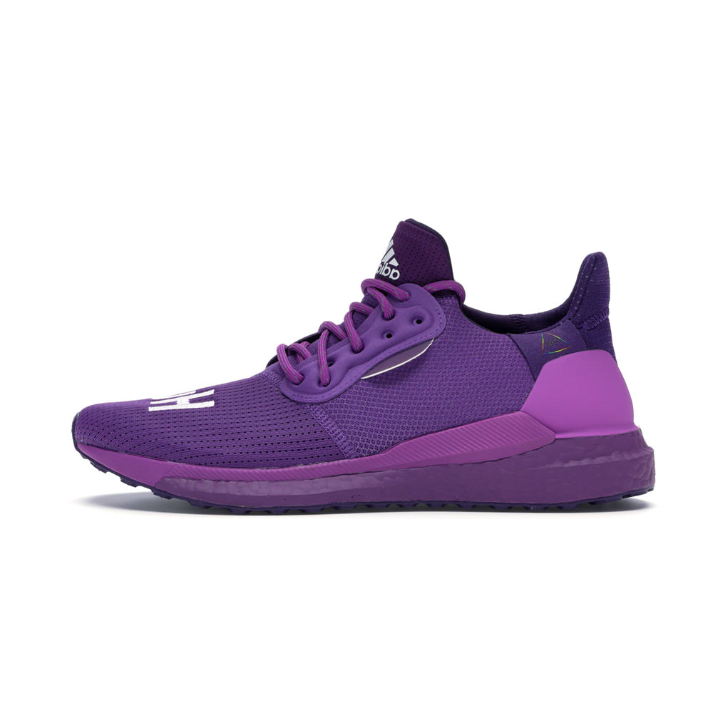 """adidas Solar Hu PRD Pharrell """"Now is Her Time"""" Pack Purple"""