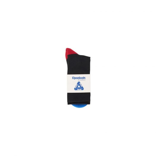 Palace x Reebok NPC Socks Black
