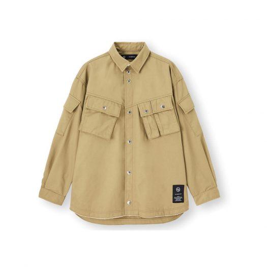 Uniqlo GU x Undercover Military Jacket Khaki