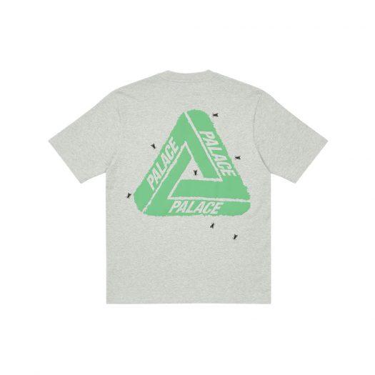 Palace Fly T-Shirt Grey Marl