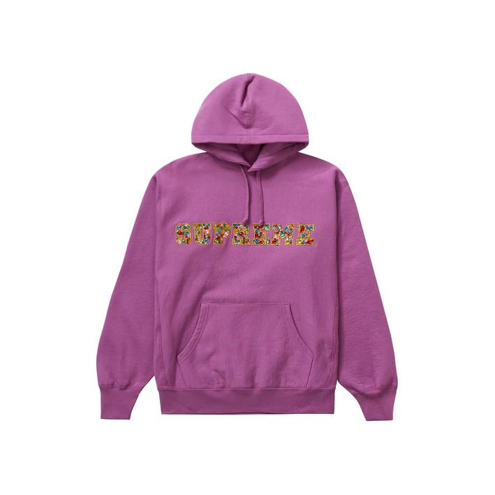 Supreme Jewels Hooded Sweatshirt (FW20) Bright Purple