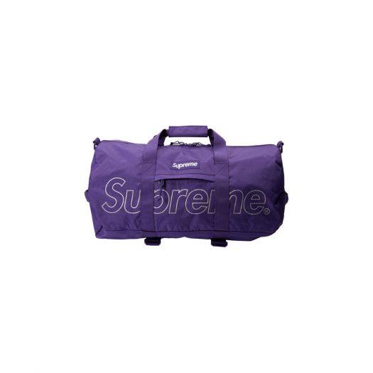 Supreme Duffle Bag (FW18) Purple
