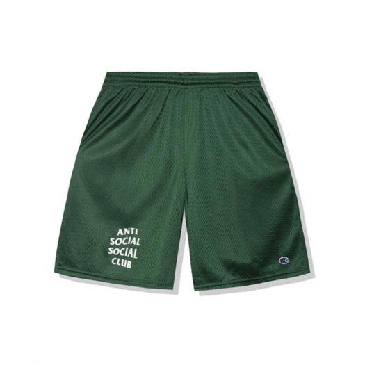 Anti Social Social Club Sports Shorts Green