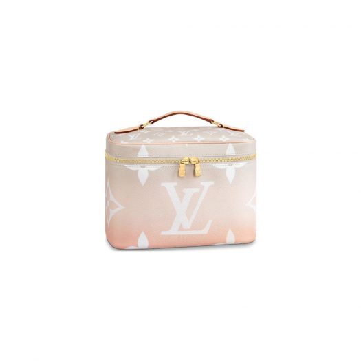 Louis Vuitton Nice Gradient Pastel BB Mist Gray in Coated Canvas with Gold-tone