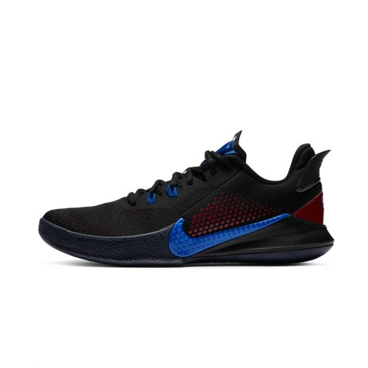 Nike Mamba Fury Black Gym Red Racer Blue