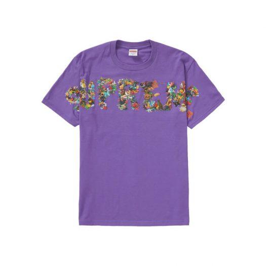 Supreme Toy Pile Tee Purple