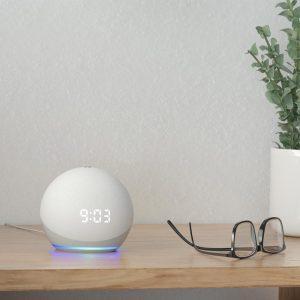 Echo Dot (4th Gen) Smart speaker with clock and Alexa