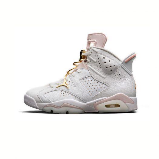 Jordan 6 Retro Gold Hoops (W)