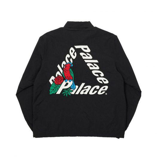 Palace Parrot Palace-3 Coach Jacket Black