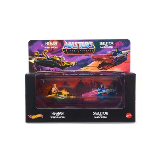 Hot Wheels Masters Of The Universe Wind Raider V.S. Land Shark SDCC Exclusive