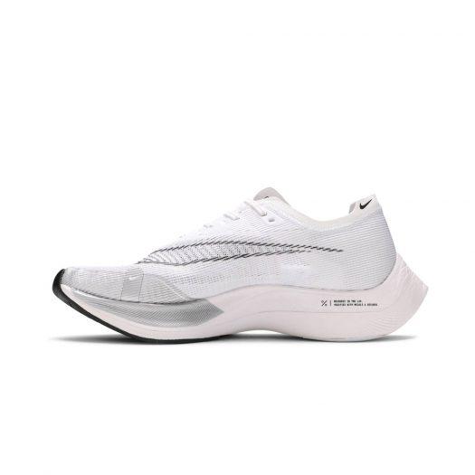 Nike ZoomX Vaporfly Next% 2 White Metallic Silver