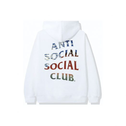 Anti Social Social Club (Japan Only) Ultra Light Hoodie White