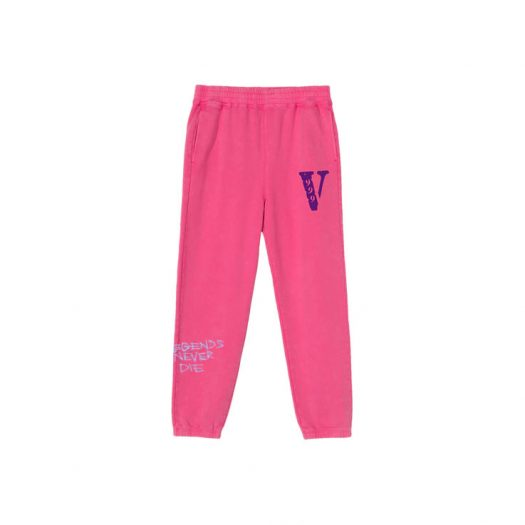 Juice Wrld x Vlone Sweatpants Pink