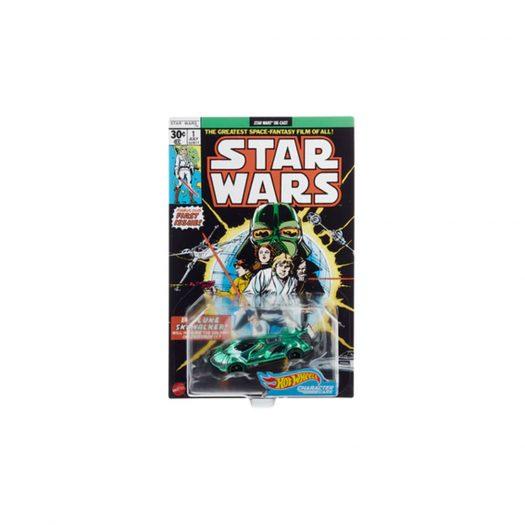 Hot Wheels Star Wars Green Darth Vader Character Car Comic Cover SDCC Exclusive Green