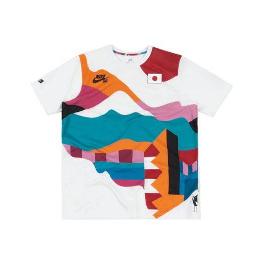 Nike SB x Parra Japan Federation Kit Crew Jersey White/Black