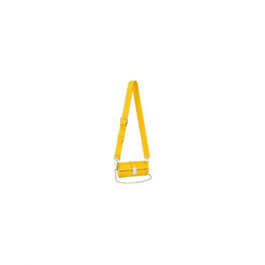 Louis Vuitton Papillon Trunk Epi Yellow in Epi Leather with Silver-tone