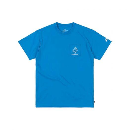 Nike SB x Parra France Federation Kit T-shirt Neptune Blue/White