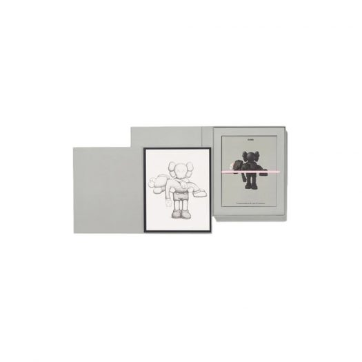 KAWS Gone Print & Monograph Boxed Set (Signed, Edition of 750)