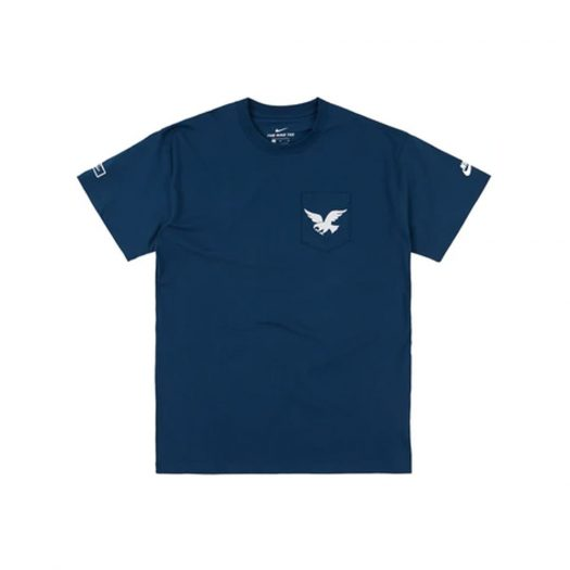 Nike SB x Parra USA Federation Kit T-shirt Brave Blue/White