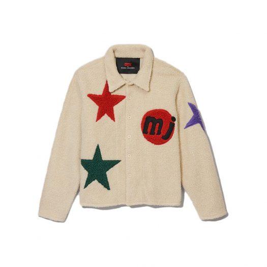 Cactus Plant Flea Market x Marc Jacobs Tattoo Shirt Jacket Cream