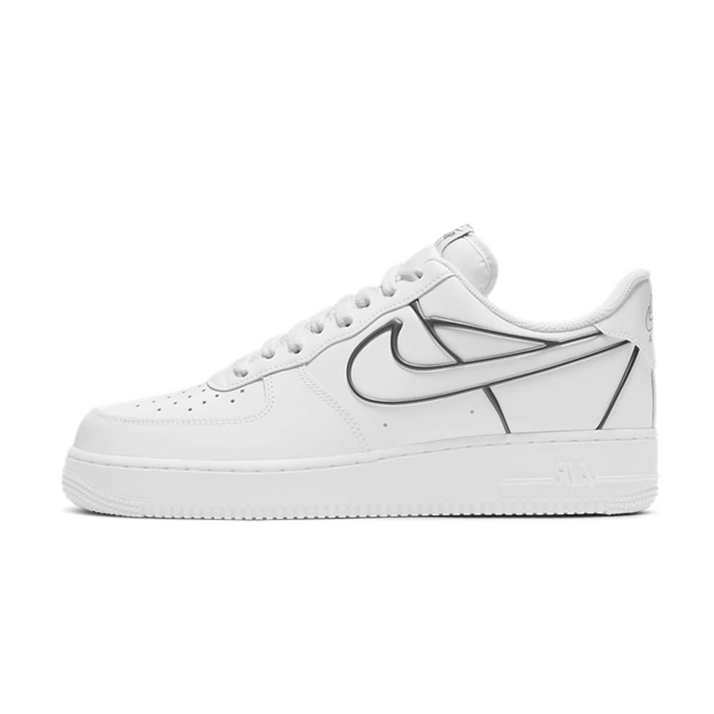 Nike Air Force 1 Low White Metallic Pewter
