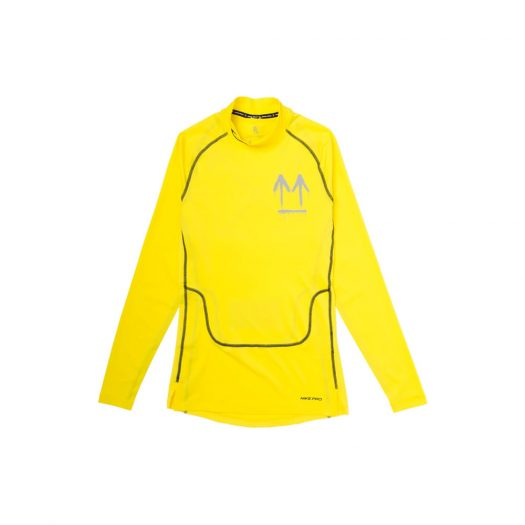 OFF-WHITE x Nike Longsleeve Opti Yellow