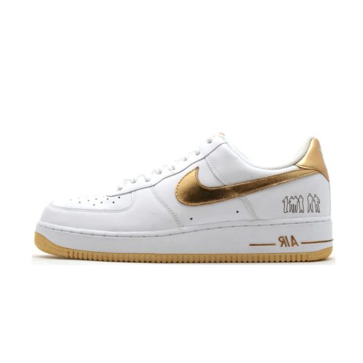 Nike Air Force 1 Low Players White Metallic Gold