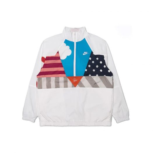 Nike x Parra Woven Warm Up Tracksuit (Jacket and Pants Set) White