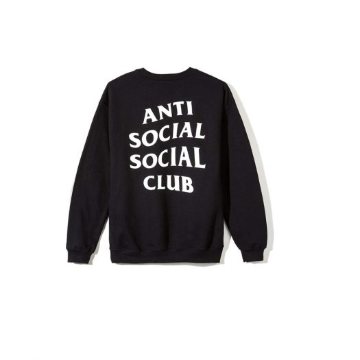 Anti Social Social Club Mind Games Crewneck (FW19) Black