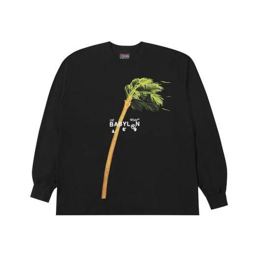 OFF-WHITE x Babylon Ill Wind Palm L/S T-Shirt Black