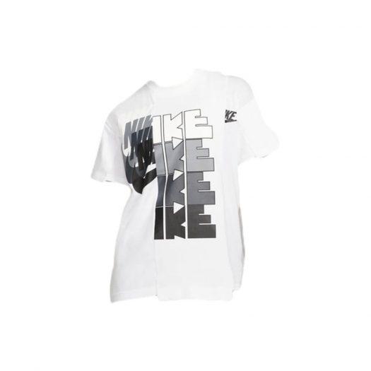 Nike x Sacai Tee White/Grey