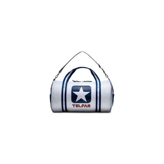 Telfar x Converse Logo Duffle White in Nylon