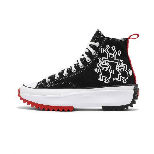 Converse Run Star Hike Hi Keith Haring Black