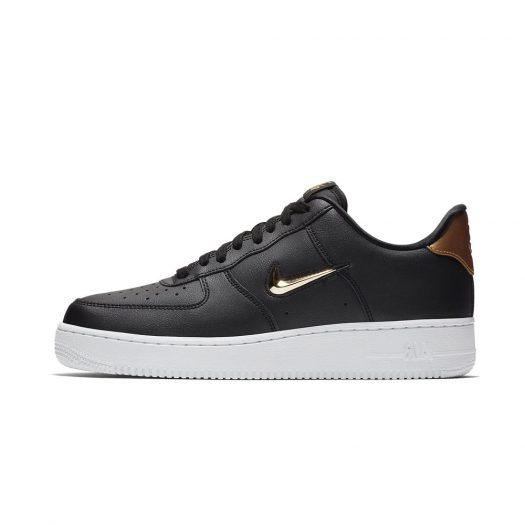 Nike Air Force 1 Low Jewel Black Metallic Gold