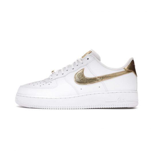 Nike Air Force 1 Low White Metallic Gold (2020)