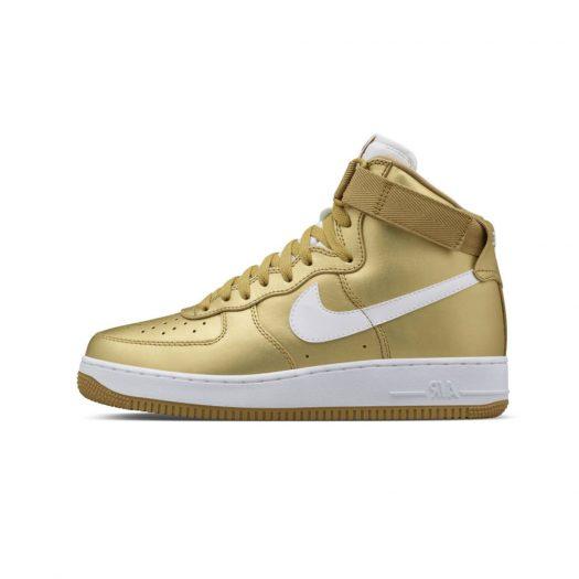 Nike Air Force 1 High Metallic Gold