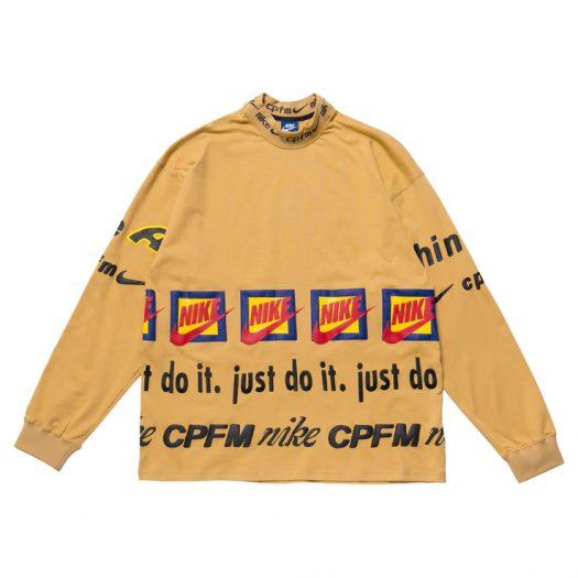 Nike x Cactus Plant Flea Market L/S T-Shirt Mustard Yellow