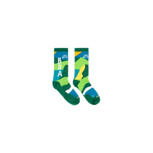 Nike SB x Parra Brazil Federation Kit Socks White/Clover